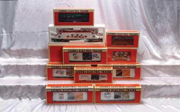 0222: Lionel Locomotive/Motor Units/Freight/Club Cars
