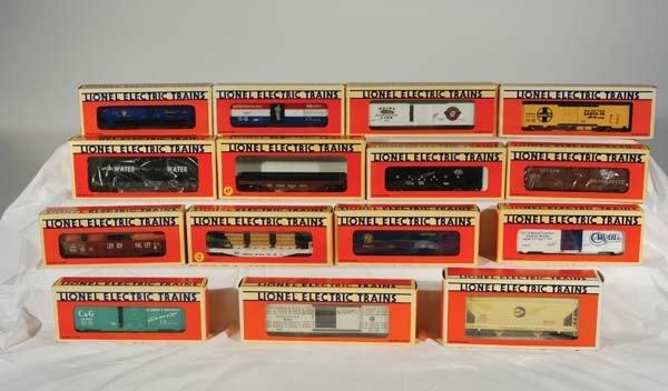 0223: Lionel Club/Freight Cars 16124 Penn Salt 3-dome t