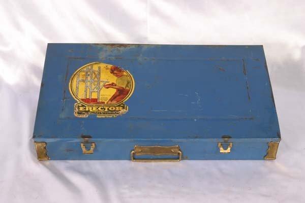 1008: Gilbert # 7 1/2 Erector Set Box