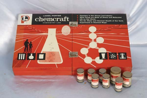 1009: Lionel-Porter Chemcraft 21050 Senior Science Lab