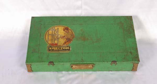 1014: Gilbert # 6 1/2 Erector Set Box