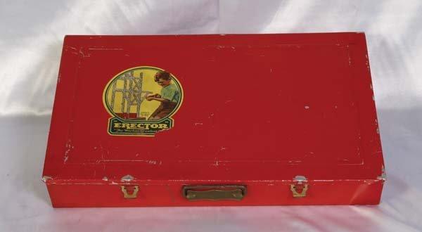 1015: Gilbert # 8 1/2 Erector Set Metal box