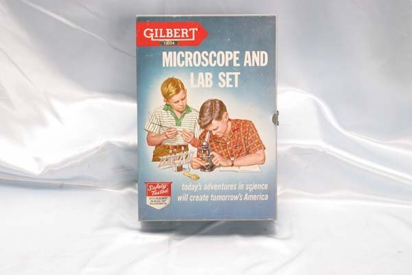 1017: Gilbert Chemistry Set 12035 Chemistry Experiment