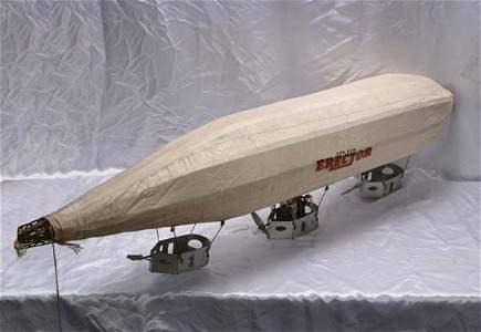 1018: Gilbert Erector Set Model F 1929 Zeppelin blimp