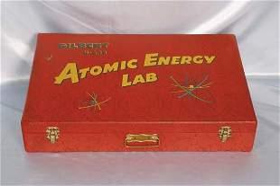 Gilbert U-238 Atomic Energy Lab Case in good shap