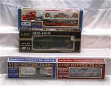 1031: K-Line Locomotive/Club Cars K-2252IC 1997 KCC Ken