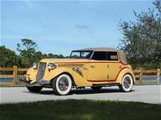 1935 Auburn Eight Supercharged Phaeton