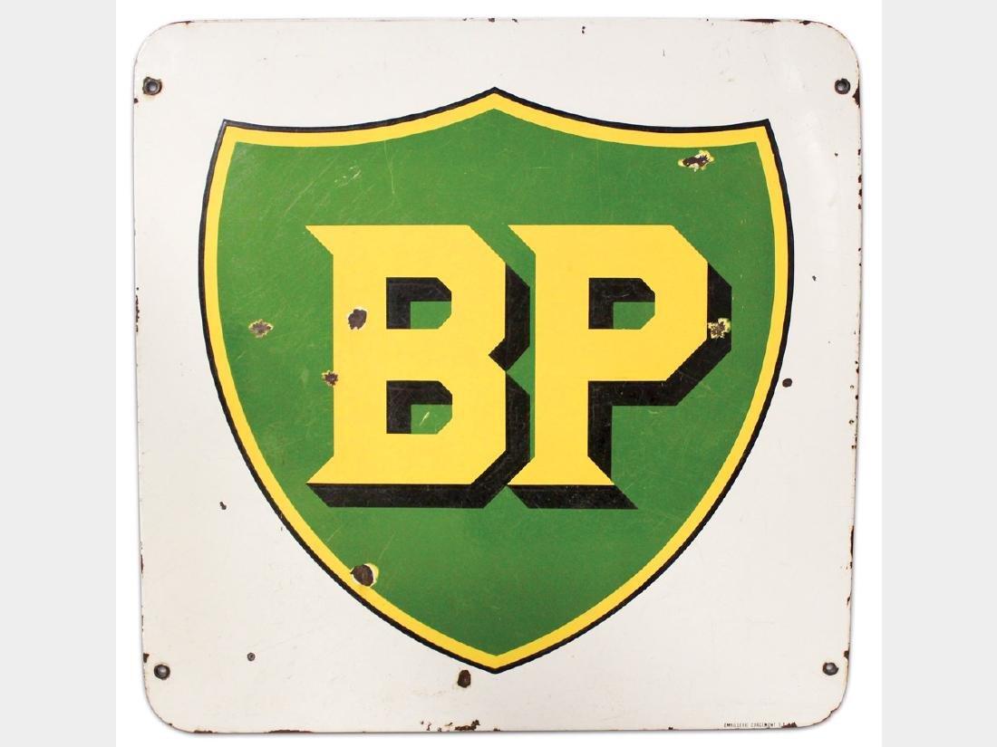 BP Porcelain Sign, Europe
