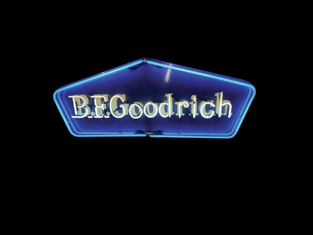 B.F. Goodrich Original Neon Tin Sign