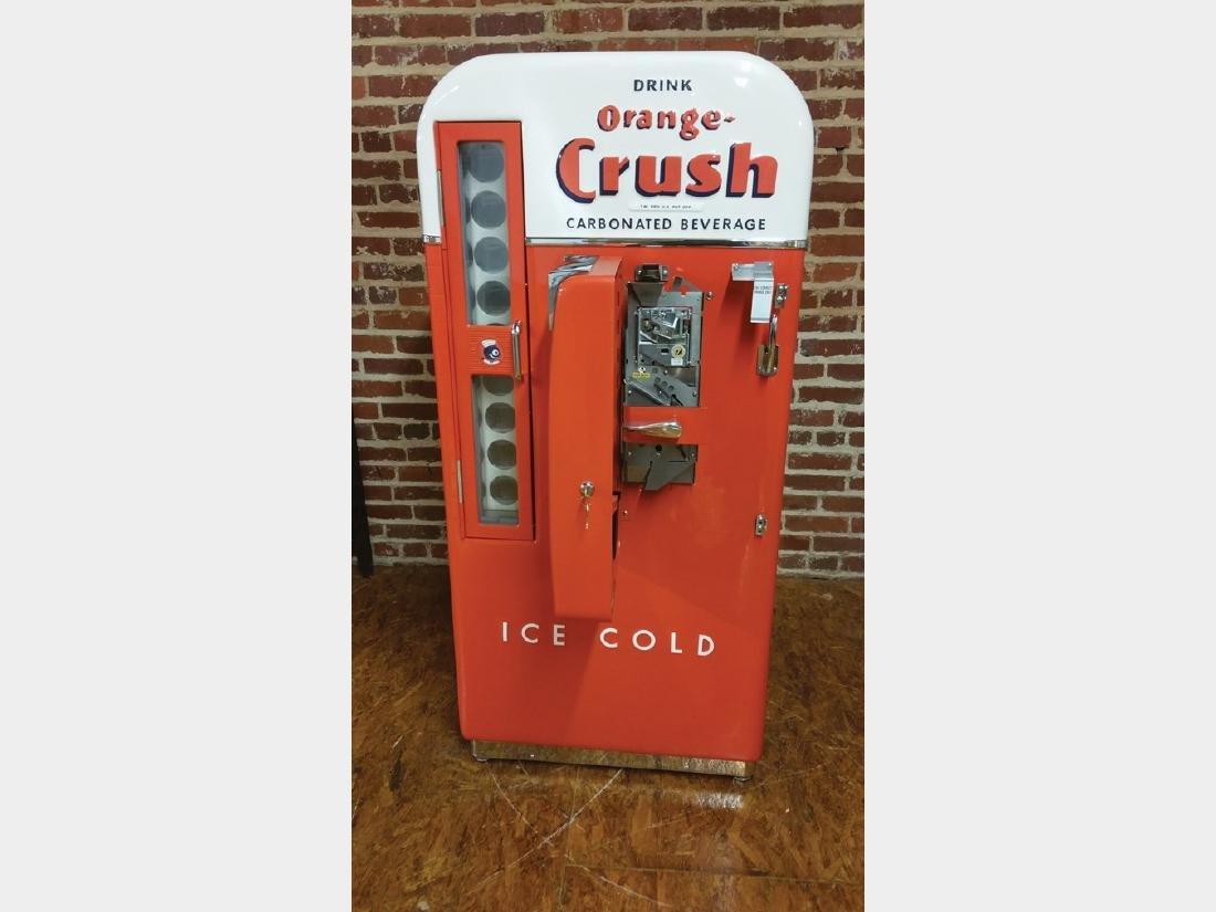 Orange-Crush Vendo 81 Vending Machine