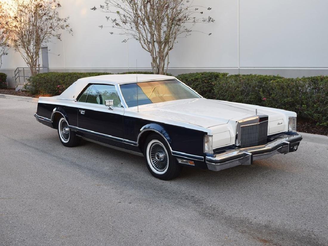 1979 Lincoln Continental Mark V Bill Blass Edition
