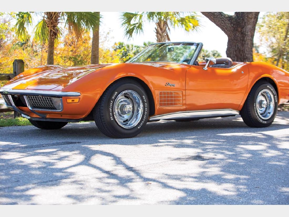 1971 Chevrolet Corvette Stingray Convertible