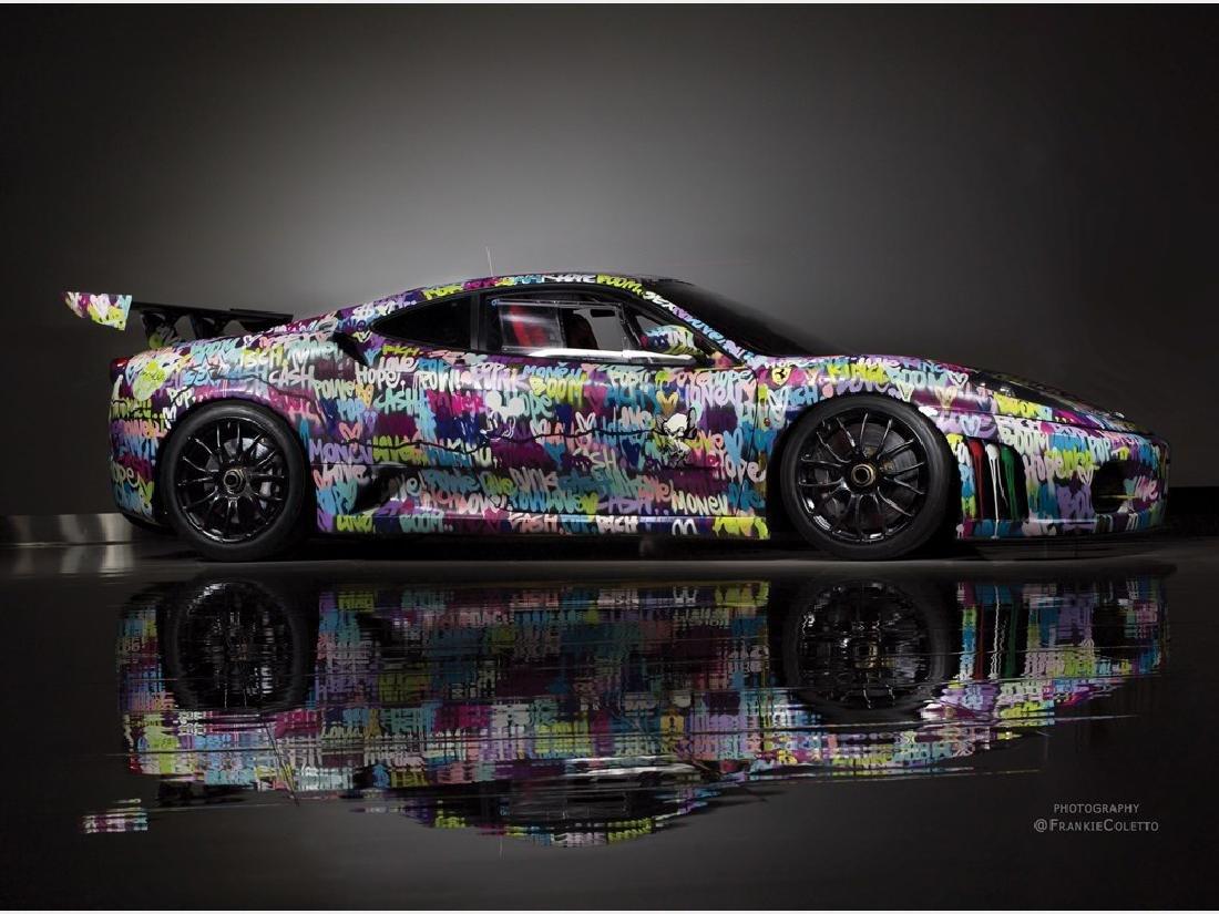 "2008 Ferrari F430 Challenge ""Art Car"" by Ben Levy"