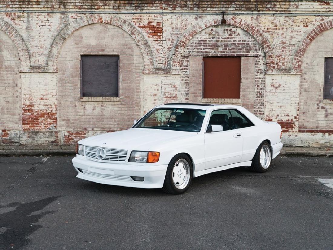 1986 Mercedes-Benz 560 SEC 6.0 AMG 'Wide-Body'