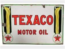 Texaco Motor Oil Porcelain Sign, Europe