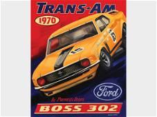 Boss 302 Trans-Am by Robert Carter