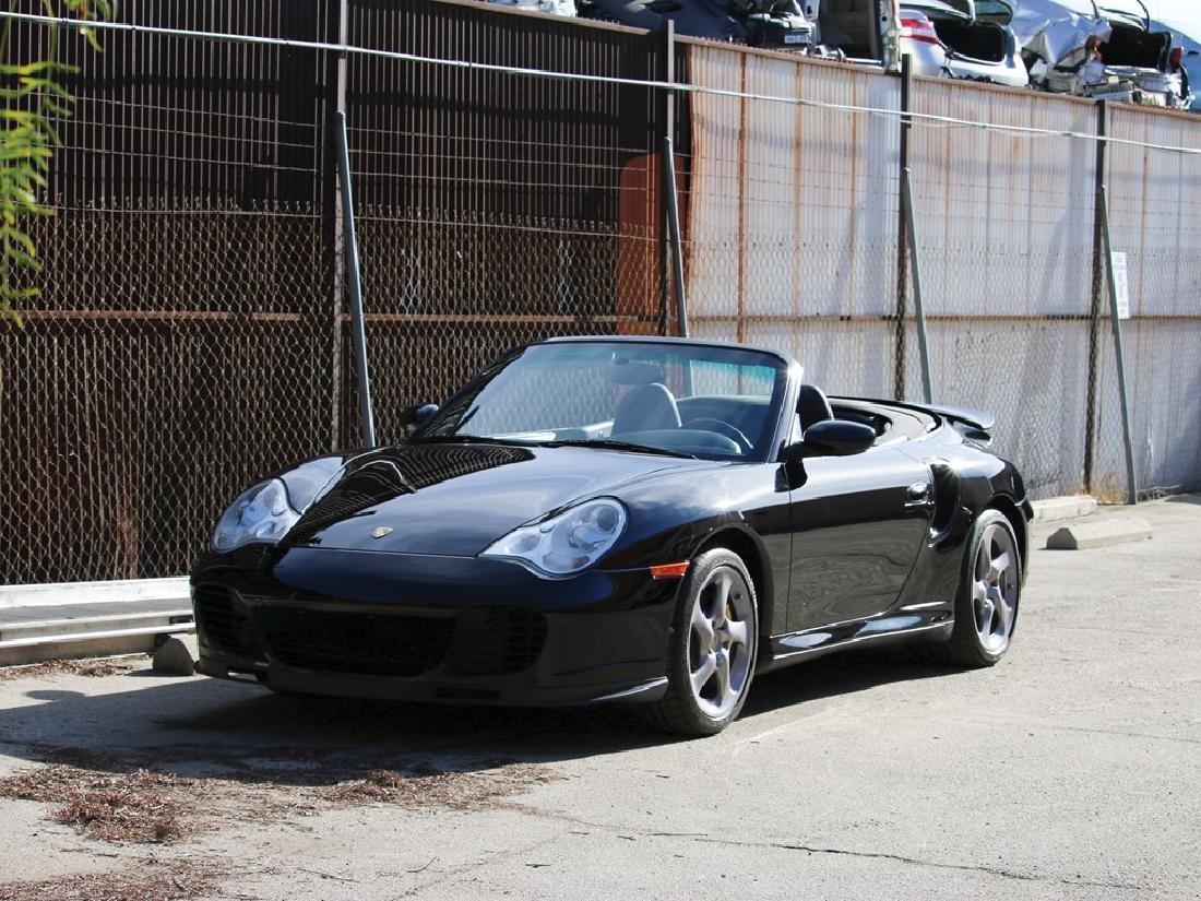 2005 Porsche 911 Turbo S Cabriolet