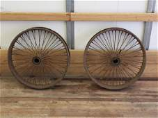Early Aircraft Wire Wheels