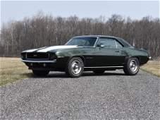 1969 Chevrolet Camaro Coupe Custom