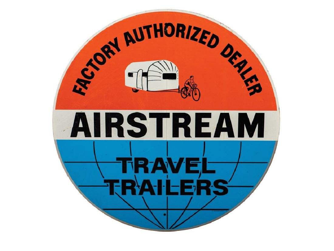 Airstream Travel Trailers Sign