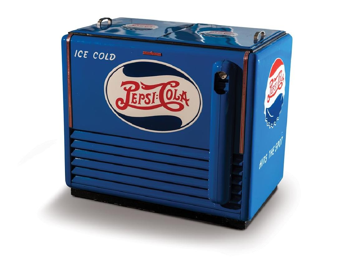 Pepsi Coin-Operated Refrigerator