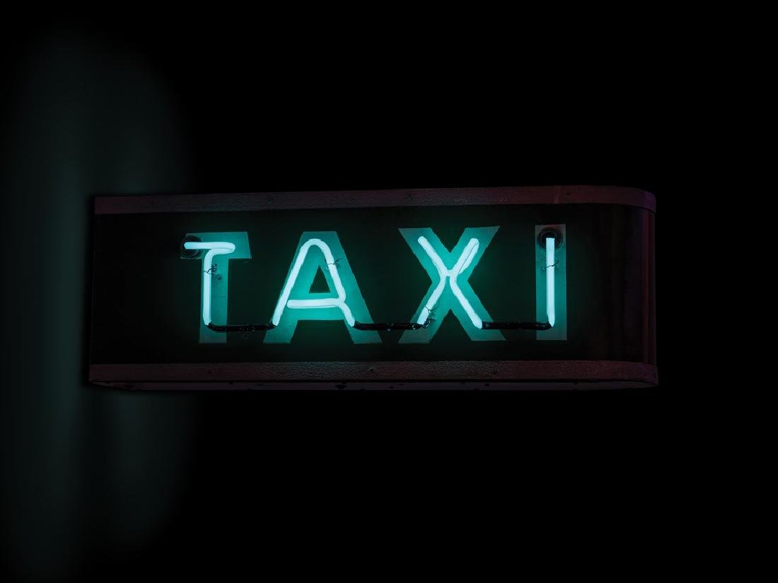 Taxi Double-Sided Neon Sign