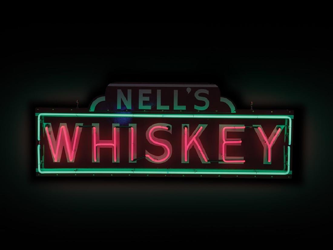 Nell's Whiskey Neon Sign