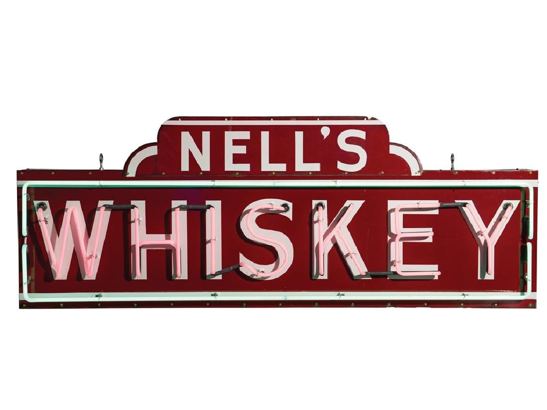 Nell's Whiskey Neon Sign - 2