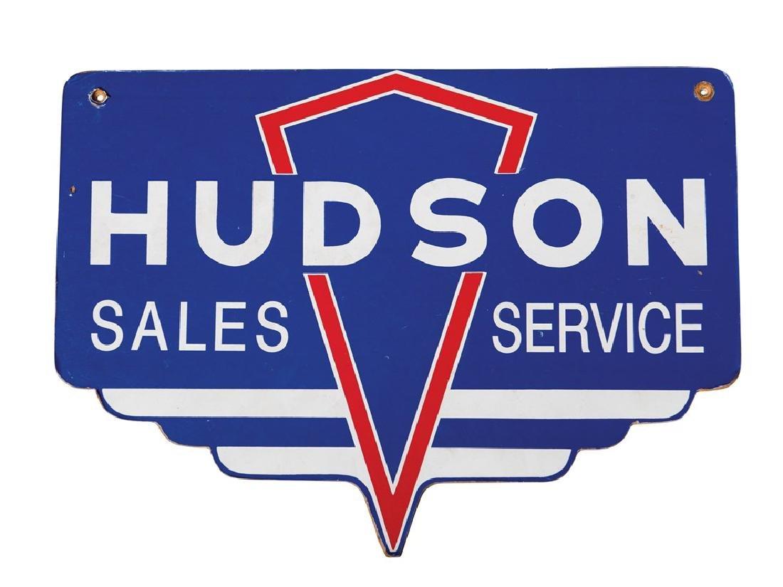 Hudson Sales Service Fiberboard Sign