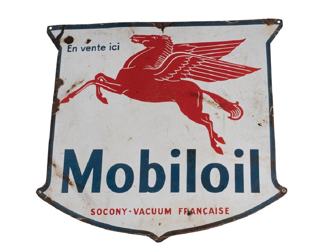 Mobiloil Sign