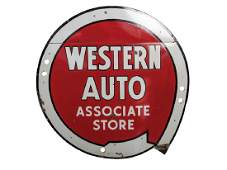 Western Auto Associate Store Neon Sign Project