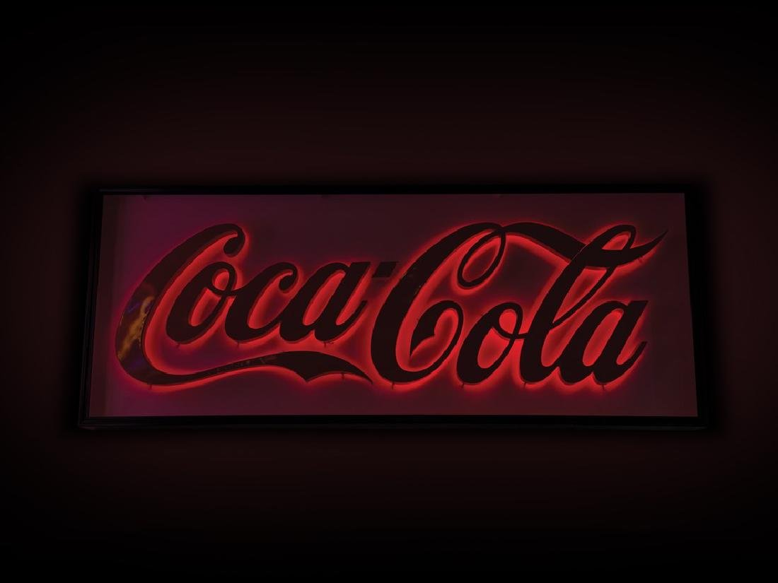 Coca-Cola Lighted Sign