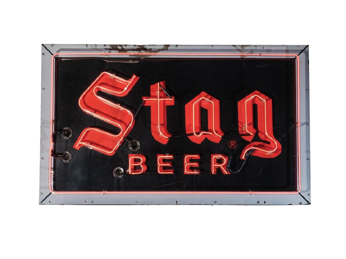 Stag Beer Neon Sign - 2