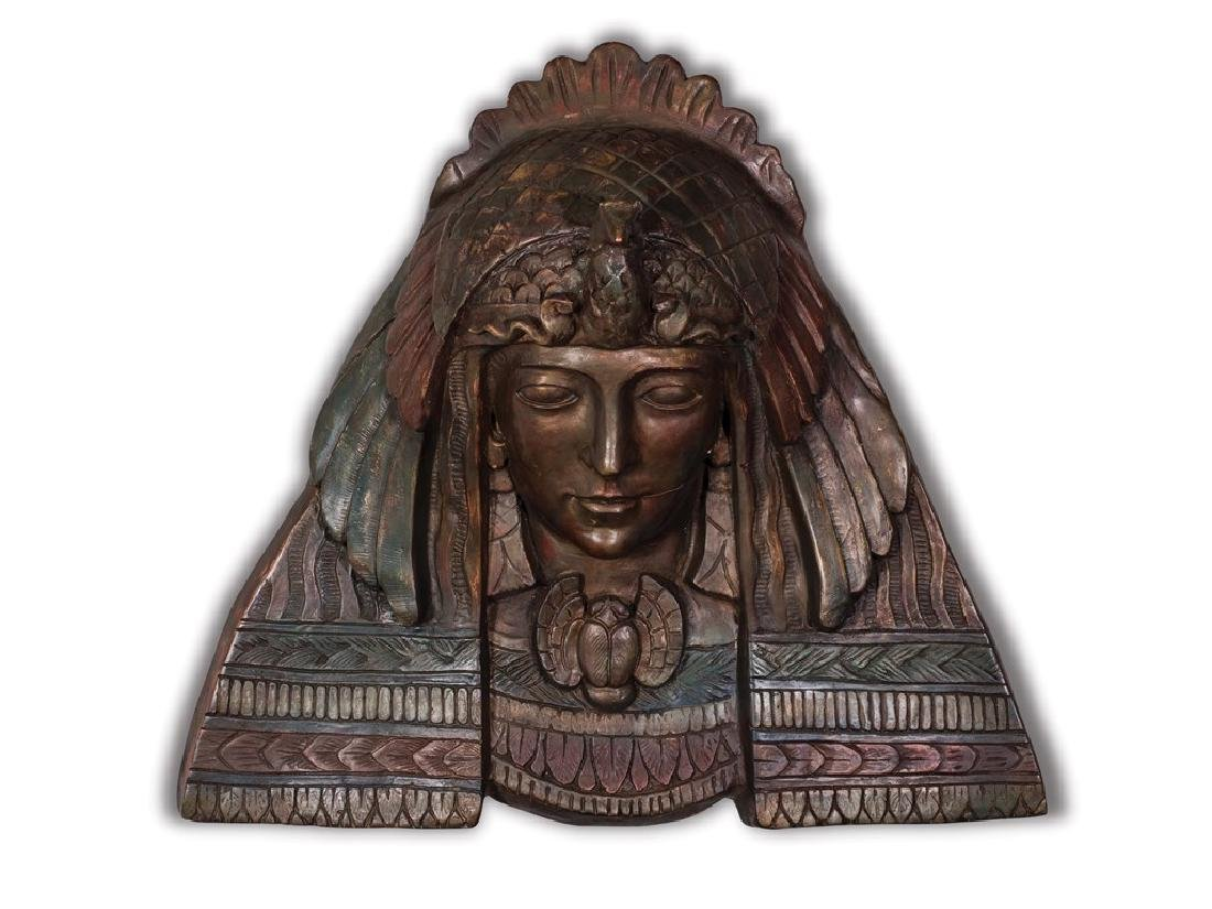 Grauman's Egyptian Theatre Carved Head
