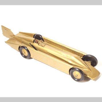 1007- GUNTHERMANN GOLDEN ARROW LAND SPEED RECORD CAR