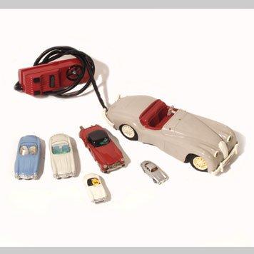 1009- JAGUAR AND MERCEDES-BENZ TOY CARS