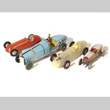 1010- RACE CARS AND MG TOY CARS