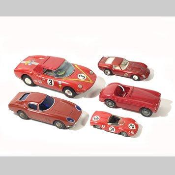 1018- FERRARI TOY CARS