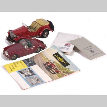 2010- VINTAGE TOY CARS AND BROCHURES