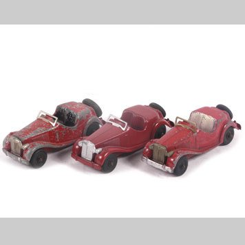 2014- TOY MG CARS BY HUBLEY KIDDIE TOY AND TOOTSIETOY - 2