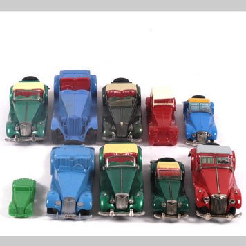 2014- TOY MG CARS BY HUBLEY KIDDIE TOY AND TOOTSIETOY - 3