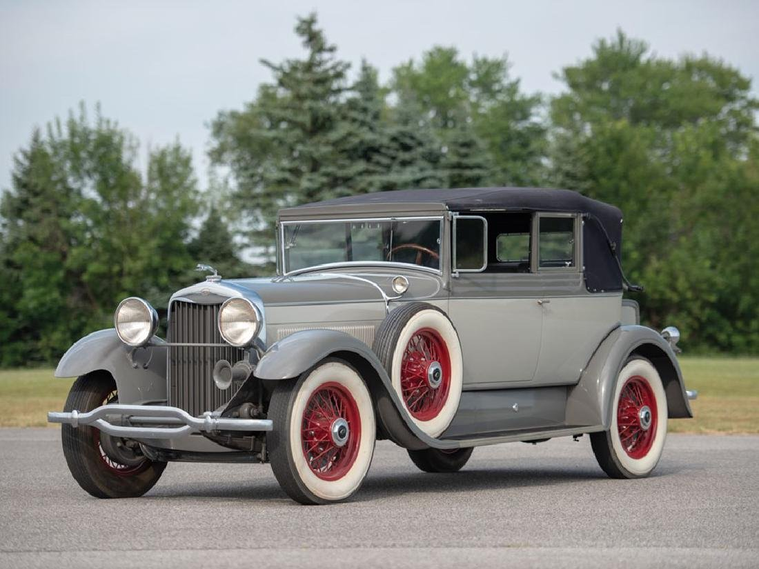 1929 Lincoln Model L Convertible Victoria by Dietrich