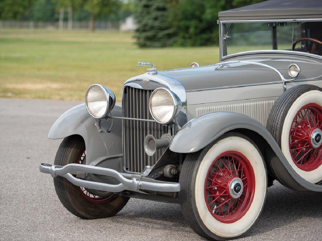 1929 Lincoln Model L Convertible Victoria by Dietrich - 6