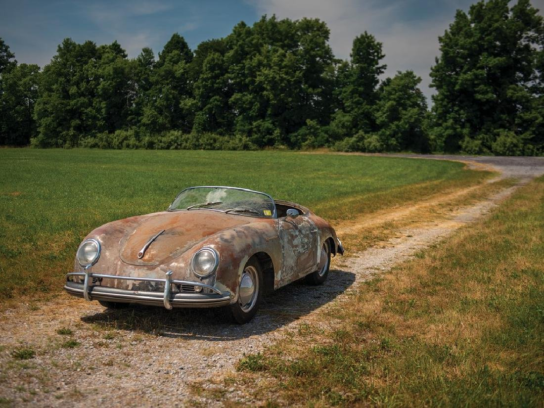 1958 Porsche 356 A 1600 'Super' Speedster by Reutter