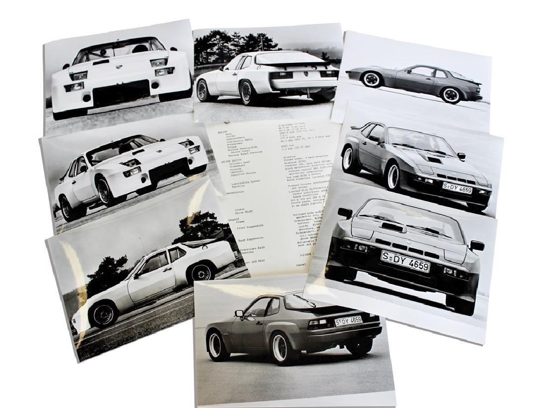 Porsche 924 Turbo Group 4 Press Release