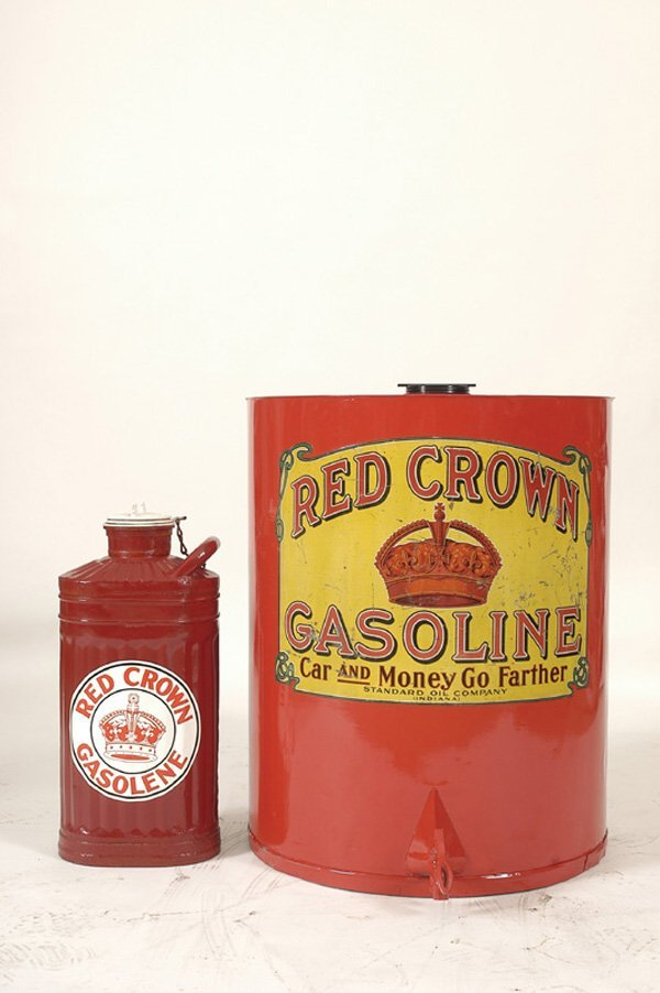 5111: Red Crown Gas Cans