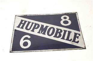 Original Hupmobile Porcelain Sign