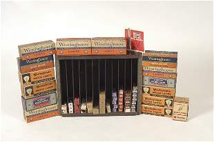 Original Champion Spark Plug Display & Plugs