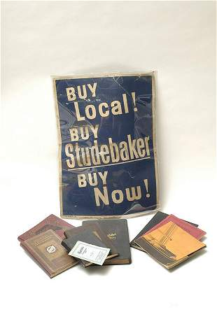 Studebaker Memorabilia & Ephemera