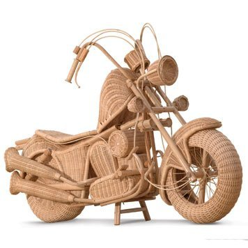 122: 122-Wicker Motorcycle